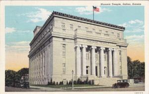 Masonic Temple , SALINA , Kansas , PU-1942