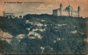 Belgium Lustin-sur-Meuse La Sanatorium de Mont 1930