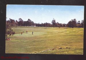LONG BEACH CALIFORNIA RECREATION PARK GOLF COURSE VINTAGE POSTCADR 1961
