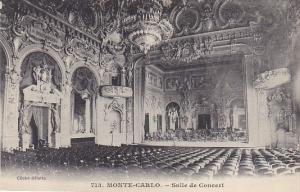 Monaco Monte Carlo Salle de Concert
