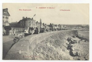 JERSEY, United Kingdom, 1900-10s; The Esplanade