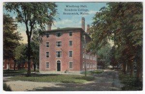 Brunswick, Maine, Winthrop Hall, Bowdoin College