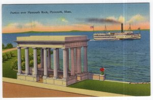 Plymouth, Mass, Portico over Plymouth Rock