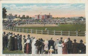 ENDICOTT , New York, 00-10's; Horse Race Track & Baseball Field