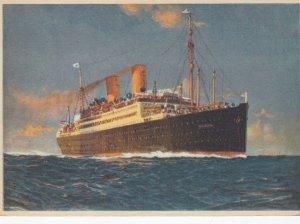Oceanliner BERLIN , Norddeutscher Lloyd Bremen , 1920-30s