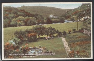 Herefordshire Postcard - The Gorge From Paddocks Hotel, Symonds Yat  RS10934