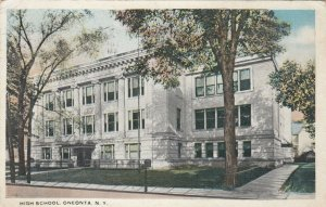 ONEONTA, New York, 1910-30s; High School