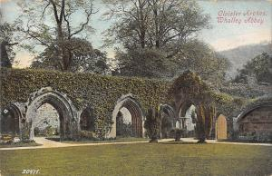 uk18207 cloister arches  whalley abbey uk