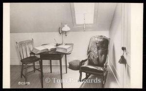 Attic Room Showing Skylight. Home of Mary Baker Eddy