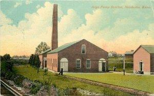 c1910s Postcard; Argo Pump Station, Neodesha KS Wilson County Posted