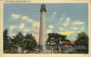 Light House  Cape May NJ Unused