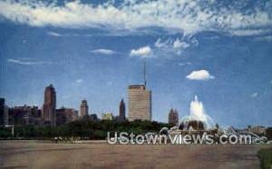 Chicago, IL Post Card;   Chicago, ILL Chicago IL Unused