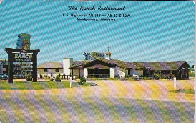 Alabama Montgomery The Ranch Restaurant
