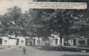 MANCHESTER , Tennessee, 1930s-40s ; Baker's Oak Grove Camp