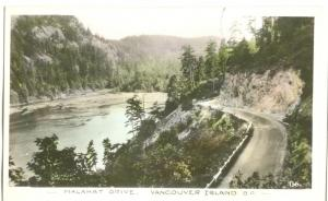 Canada, Malahat Drive, Vancouver Island, BC, unused Gowen Sutton Real Photo