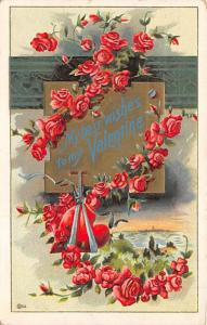 Valentines Day postal used date unknown