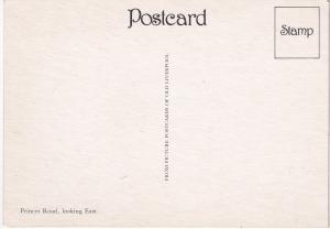 Post Card Lancashire Liverpool Old Liverpool  Princes Road