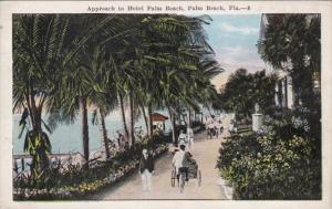 Florida Palm Beach Approach To Hotel Palm Beach