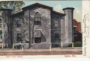 DAYTON, Ohio, 1909; Dayton Work House