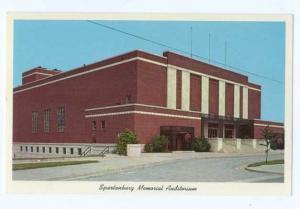 Spartanburg Memorial Auditorium, Spartanburg, South Caroline SC, Chrome