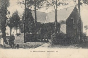 PETERSBURG , Virginia , 1910 ; Old Blandford Church