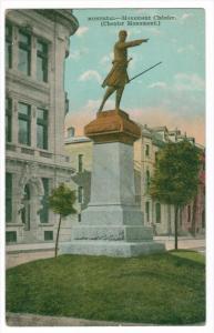 1626  Quebec  Montreal   Monument Chenier  (Chenter Monument)