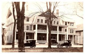Vermont  Chester ,  Fullerton Inn  , RPC
