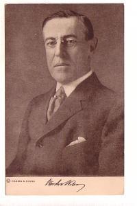 Woodrow Wilson, President, Signature, Harris & Ewing