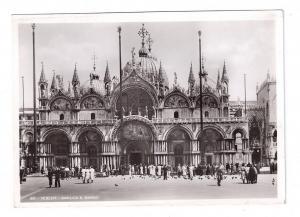 RPPC Venezia Basilica S Marco 1938 Italy Real Photo Postcard