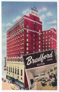 Boston, Mass, Bradford Hotel