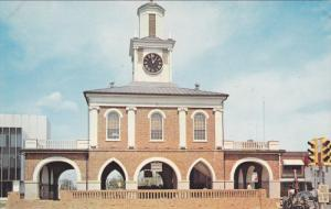 FAYETTEVILLE, North Carolina, 1940-1960's; Old Market House, Town Hall