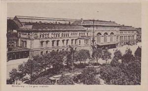 La Gare Centrale, Strasbourg (Bas Rhin), France, 1900-1910s