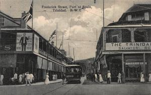 Frederick Street, Port of Spain, Trinidad, British West Indies, Unused