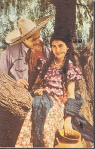 ROMANCE of a young Mexican couple, 1940s - titled Romance Campirano
