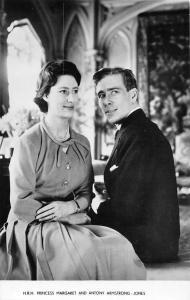 H.R.H. Princess Margaret and Antony Armstrong-Jones, photo Greetings