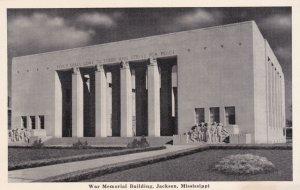 JACKSON, Mississippi, 1930-50s; War Memorial Building