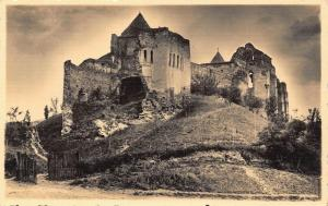 Romania Slimnic Stolzenburg church ruins postcard