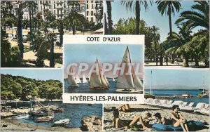 Modern Postcard Zion on Ocean (Vendee) Saint Jean de Monts Camping La Corniche