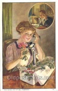 Bell Telephone advertising, Phone Postcard Postcards Unused