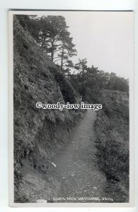 tp9083 - Devon - Walking up Goats Path in Watcombe Hills - postcard - Chapman