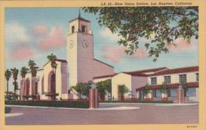 California Los Angeles Union Station Curteich