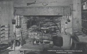 Connecticut Farmington Fireplace In Hall Farmington Museum Artvue
