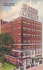 Exterior, Hotel Rodney, Wilmington, Delaware,PU-30-40s