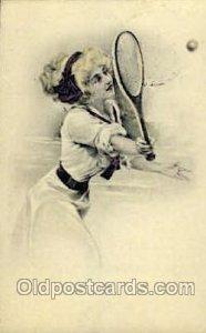 Tennis 1920 light indentation top edge, corners are square