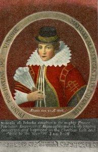 VA - Jamestown. Princess Pocahontas