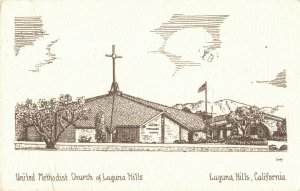 Postcard United Methodist Church Laguna Hills California