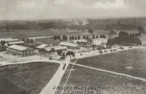 CAMP LEE, Virginia, 1910-20s; Division Headquarters