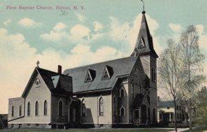 HILTON, New York, 1900-10s; First Baptist Church