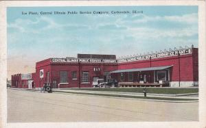 CARBONDALE , Illinois, 1910-30s ; Ice Plant, Central Illinois Public Service Co.