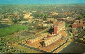 Ohio Columbus Aerial View Medical Health Center Ohio State University 1965